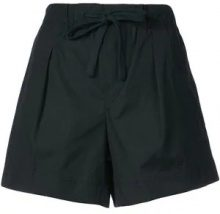 Vince - flared front fastened shorts - women - Cotton - XS, M, L - BLUE