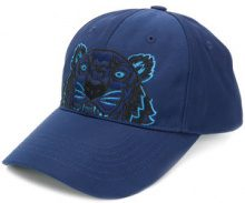 Kenzo - Cappello 'Tiger' - women - Cotone/Polyester/Nylon - One Size - BLUE