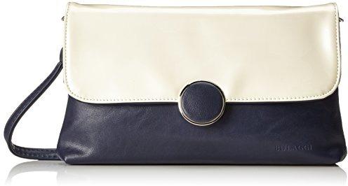 edd2018a61 Bulaggi Layton Clutch - Pochette da giorno Donna, Blau (Dunkel Blau),  03x17x26 cm (B x H T)