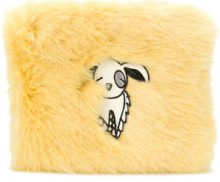 Shrimps - Borsa clutch 'Finola' - women - Acrylic/Modacrylic/Acetate/Viscose - OS - YELLOW & ORANGE