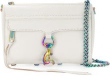 Rebecca Minkoff - small Mac crossbody bag - women - Calf Leather - OS - WHITE
