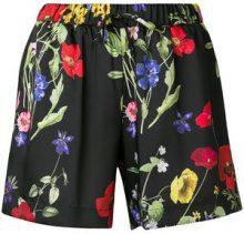 Blugirl - Shorts a fiori - women - Polyester - 42 - BLACK