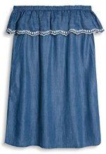 edc by Esprit 037cc1e018, Vestito Donna, Blu (Blue Medium Wash), 38 (Taglia Produttore)