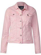Cecil 210681 Hedda, Giacca in Jeans Donna, Rosa (Magic Pink 11277), (Taglia produttore: M)
