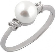 Bella Pearls Donna FINERING, argento, 52 (16.6), cod. RS-10-L
