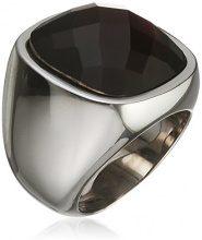 Donne-anello acciaio vetro Simona Tamaris Nero, acciaio inossidabile, 52 (16.6), colore: Silber /Lila, cod. A03710192