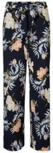 VERO MODA Flower Hw Trousers Women Blue