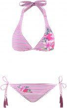 Bikini con reggiseno a triangolo (Fucsia) - BODYFLIRT