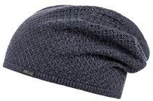 CaPO Knit Cotton Beanie, Berretti a Maglia Donna, Grigio (Grigio 5), Taglia unica