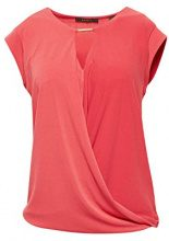 ESPRIT Collection 998eo1k803, T-Shirt Donna, Rosa (Pink Fuchsia 660), Large