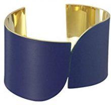 Uncommon Matters Bracciale Cuff Donna placcato_oro - #3 BLUE