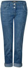 Cecil 371262 Scarlett, Pantaloni Donna, Blau (Authentic Used Wash 10239), 44 (Taglia produttore: 30)