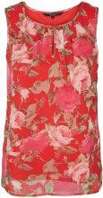 VERO MODA Flower Sleeveless Top Women Red