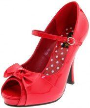 Pleaser CUTIEPIE-08 - Zapatos de Tacón para Mujer, Red (Red), 41.5 EU