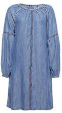 edc by Esprit 038cc1e014, Vestito Donna, Blu (Blue Medium Wash 902), Small