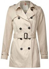Street One 200970, Cappotto Donna, Beige (Foggy Sand 11187), 48