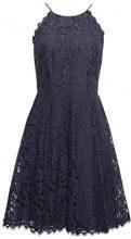 ESPRIT Collection 048eo1e028, Vestito Donna, Blu (Navy 400), 44