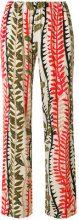 Alberta Ferretti - Pantaloni stampati - women - Viscose/other fibers - 40, 42, 46, 48 - NUDE & NEUTRALS