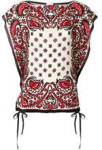Red Valentino - Blusa con stampa - women - Silk/Polyester/Cotone - 44, 42, 46 - NUDE & NEUTRALS