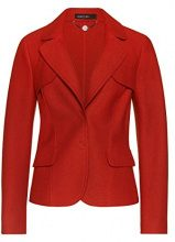 Marc Cain Collections FC 34.27 J30, Blazer Donna, Rot (Red Ochre 496), 42