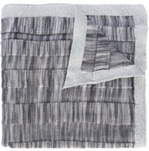 Missoni - patterned scarf - women - Polyester/viscose - OS - GREY