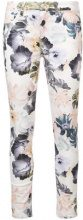 7 For All Mankind - floral print skinny jeans - women - Cotton/Spandex/Elastane - 25, 29, 30, 31 - WHITE