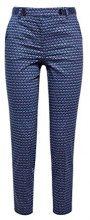 ESPRIT Collection 038eo1b010, Pantaloni Donna, Blu (Navy 400), 44 (Taglia Produttore: 38)