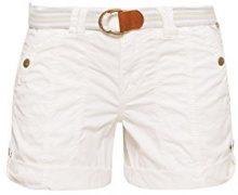 edc by Esprit 038cc1c002, Pantaloncini Donna, Bianco (White 100), 40 (Taglia Produttore: 34)
