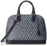 Guess Jetset Lili Dome Satchel Borse a Tracolla, BLM