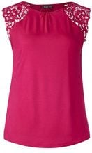 Street One 312053, Canottiera Donna, Rosa (Carribean Pink 11293), 46