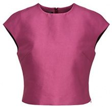 APART Fashion Glamour: Black Cherry-Blush-Pink, Tank Top Donna, Rosa (Fuchsia), 46