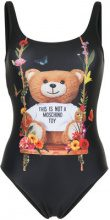 Moschino - Teddy bear Toy one-piece - women - Polyester/Spandex/Elastane - 38 - BLACK