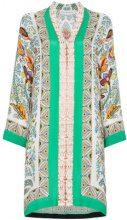 Etro - Kaftano con stampa cashmere - women - Silk/Viscose/Polyester - 40, 42 - Multicolore
