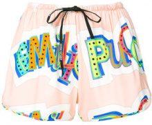 Emilio Pucci - Shorts stampati - women - Viscose/Spandex/Elastane - 38, 40, 42 - MULTICOLOUR