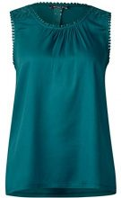 Street One 311933, Canottiera Donna, Grün (Teal Green 11270), 48