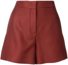 Emilio Pucci - tailored high-waist shorts - women - Silk/Acetate/Viscose/Wool - 40, 42, 38, 44, 46 - RED