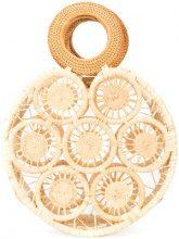 Cult Gaia - round small bag - women - Straw - OS - NUDE & NEUTRALS