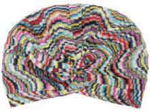 Missoni - Berretto ricamato con motivo fantasia - women - Polyester/Rayon/Viscose - OS - MULTICOLOUR