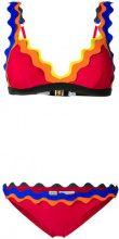 Rye - Cackle bikini set - women - Nylon/Spandex/Elastane - XS - RED