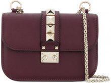 Valentino - Valentino Garavani Glam Lock shoulder bag - women - Leather - OS - RED