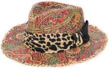 Etro - Cappello intrecciato - women - Silk/Cotton/Raffia/viscose - 57 - MULTICOLOUR