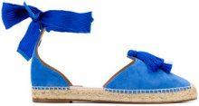 Aquazzura - Espadrillas con nappina - women - Leather/Suede - 36, 37, 39 - BLUE