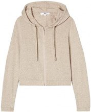 FIND Supersoft Hooded Cappuccio Donna, Beige, 42 (Taglia Produttore: Small)