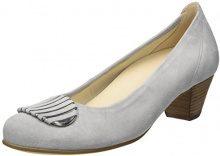 Gabor Shoes Comfort Scarpe con Tacco Donna, Grigio (Light Grey 40), 41 EU