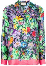 Gucci - flora tiger print shirt - women - Silk - 48, 40, 42, 44 - MULTICOLOUR