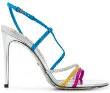 Gucci - Sandali con fascette intrecciate - women - Leather - 35, 36.5, 37, 37.5, 39, 39.5, 36, 38, 40 - Blu