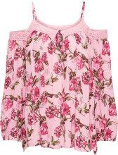 Blusa fantasia con spalle scoperte (rosa) - BODYFLIRT