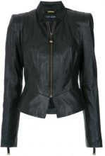 Tufi Duek - slim fit jacket - women - Leather - 36, 38, 40, 42, 44, 46 - BLACK