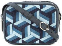 Welden - Explorer camera bag - women - Leather - OS - BLUE