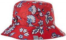 Joules Rainy Day, Cappello alla Pescatora Donna, Red (Red Indienne Floral), Taglia unica